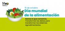 16 de octubre, Día mundial de la alimentación.