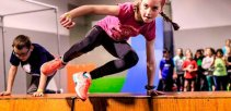 Gimnasia, Taekwondo y  Parkour son parte de las disciplinas para competir