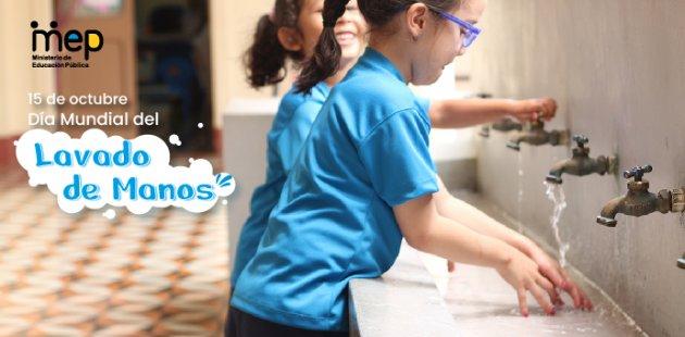 15 de octubre, Día Mundial del Lavado de Manos.