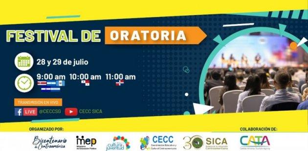 Festival de oratoria región centroamericana