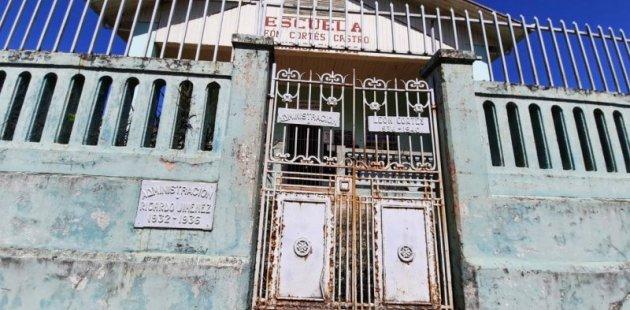 Actual escuela León Cortés Castro