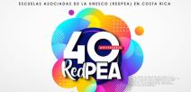Logo del 40 aniversario de la Red del Plan de Escuelas Asociadas de la Unesco