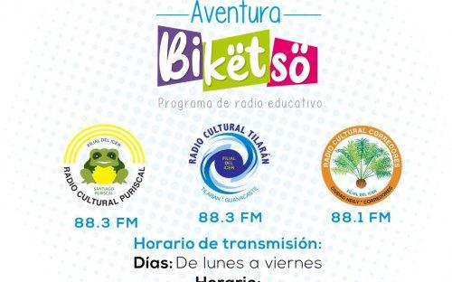 88.3 Sistema Cultura 3, de lunes a viernes de 8:00 a.m. a 8:30 a.m.