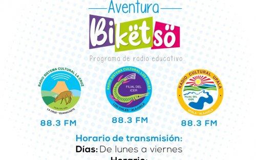 88.3 Sistema Cultural, de lunes a viernes de 9:00 a.m. a 9:30 a.m.