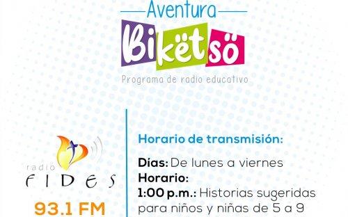 93.1 Radio Fides, de lunes a viernes 1:00 p.m.