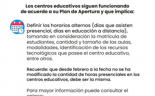 Información Estrategia Regresar https://www.mep.go.cr/Estrategia-regresar-2021