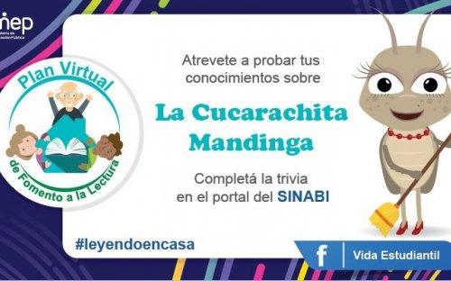 Reto #2 Atrévete a probar tus conocimientos sobre la Cucarachita Mandinga