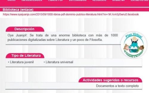 Reto #15 Biblioteca Oye Juanjo
