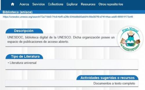 Reto #17 Biblioteca UNESDOC