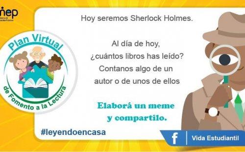 Reto #21 Hoy seremos Sherlock Holmes